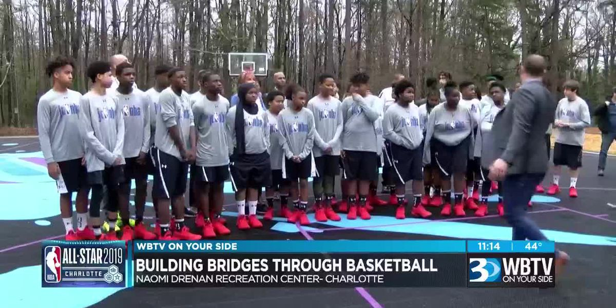Building bridges through basketball