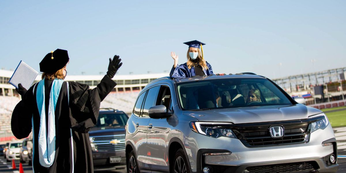 Rowan-Cabarrus Community College to celebrate second drive-through graduation