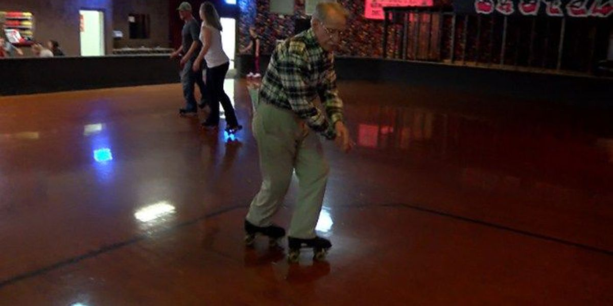 90-year-old takes roller skating rink by storm