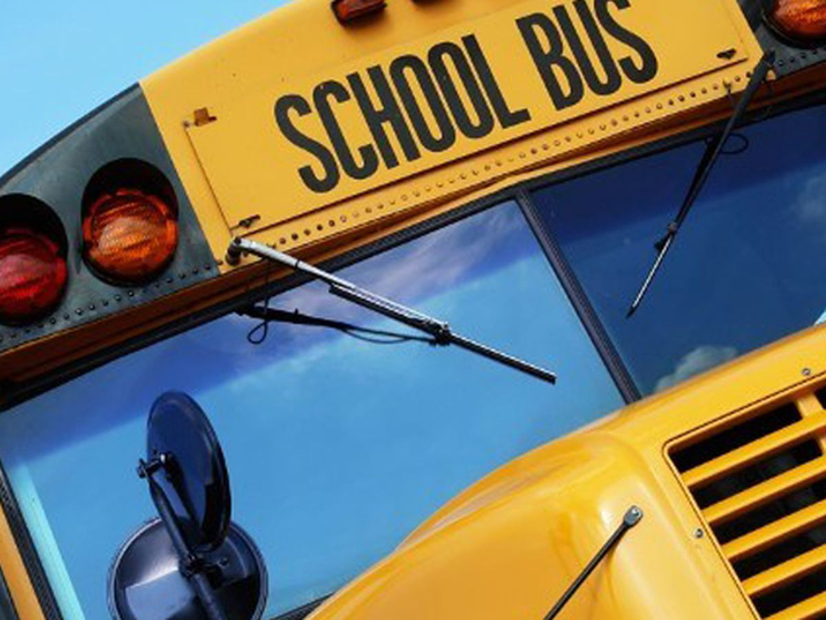 School bus catches fire in Iredell Co., no students on board at time