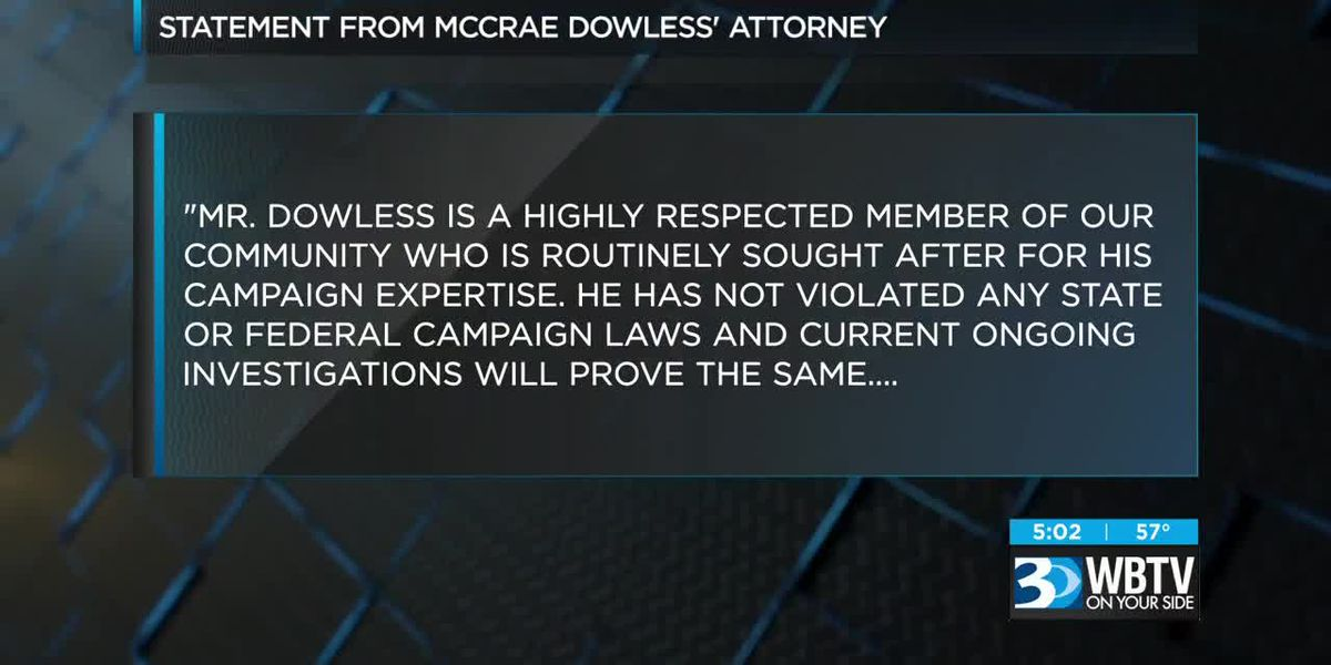 Dowless releases first public statement