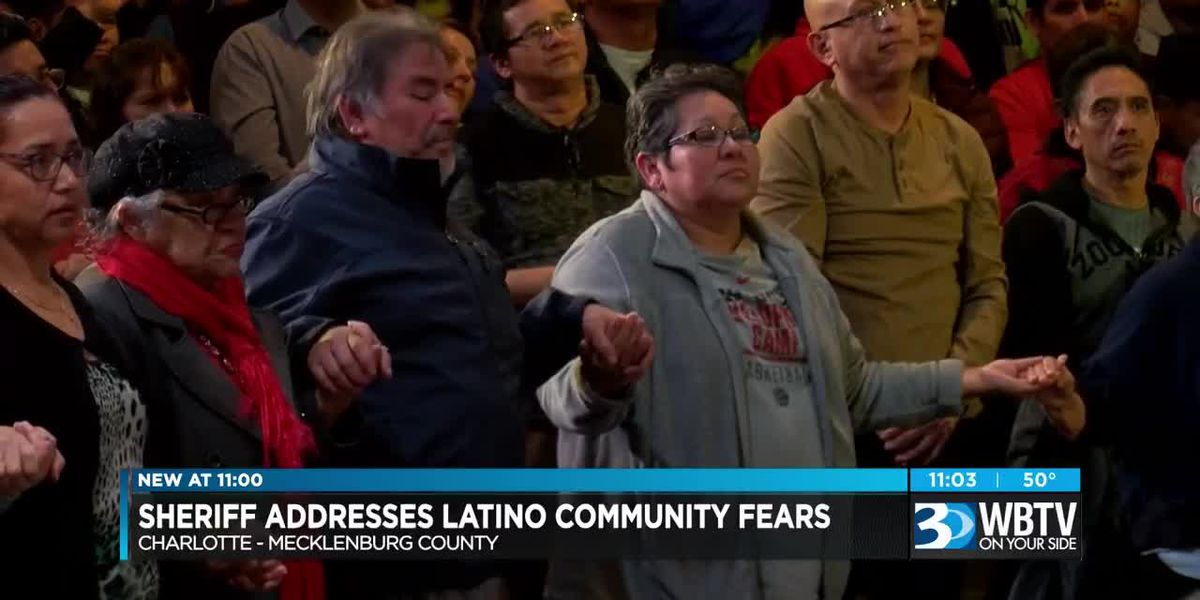 Latino community meets with Mecklenburg County Sheriff