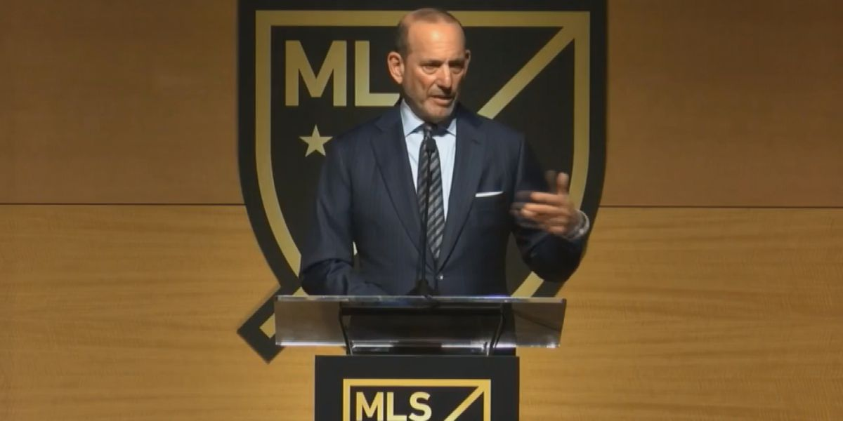 MLS commissioner speaks on potential of Charlotte landing a professional soccer team
