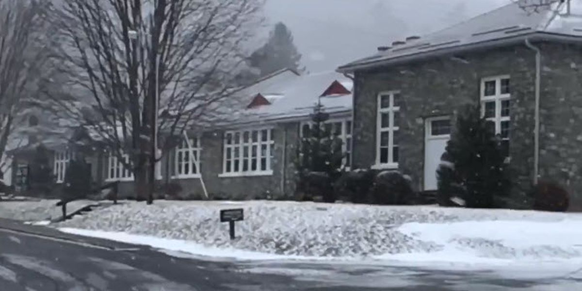 More snow falls in the N.C. mountains
