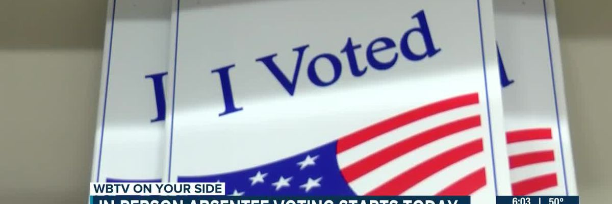 In-person absentee voting begins in S.C.