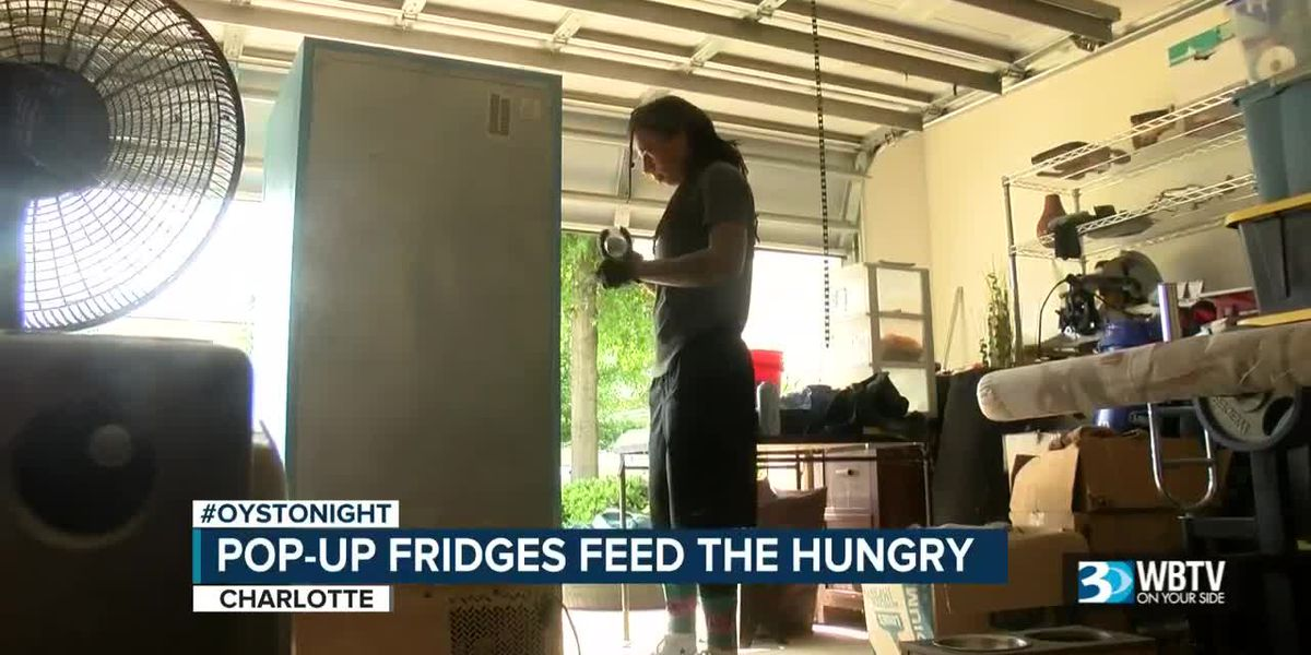 Pop-up fridges feed the hungry in the Charlotte area