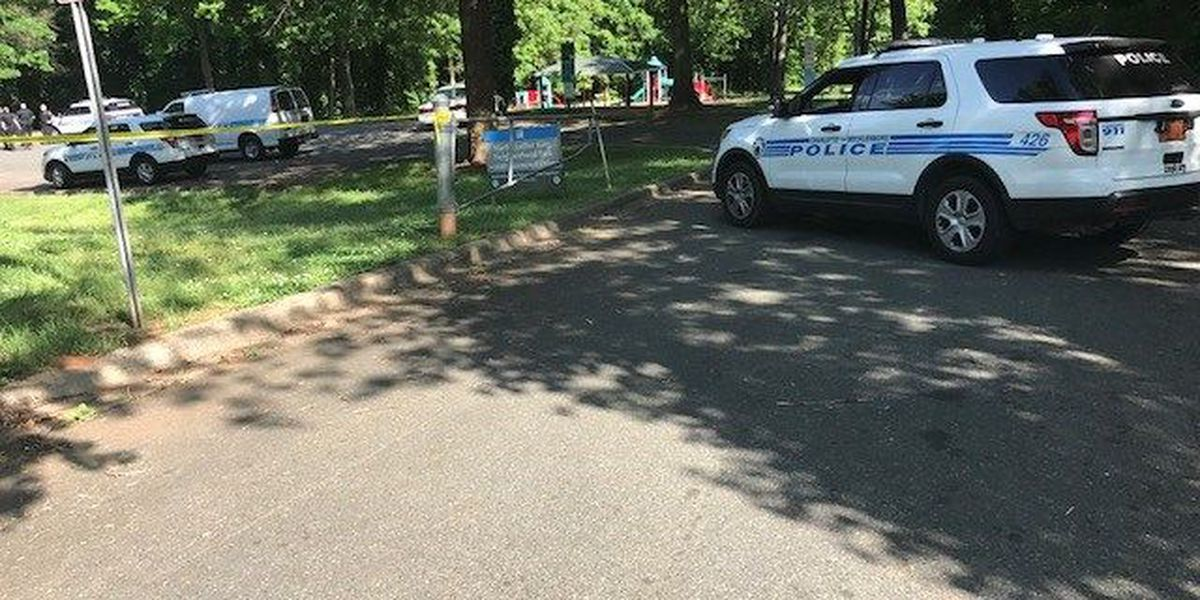 One seriously injured in shooting at west Charlotte park