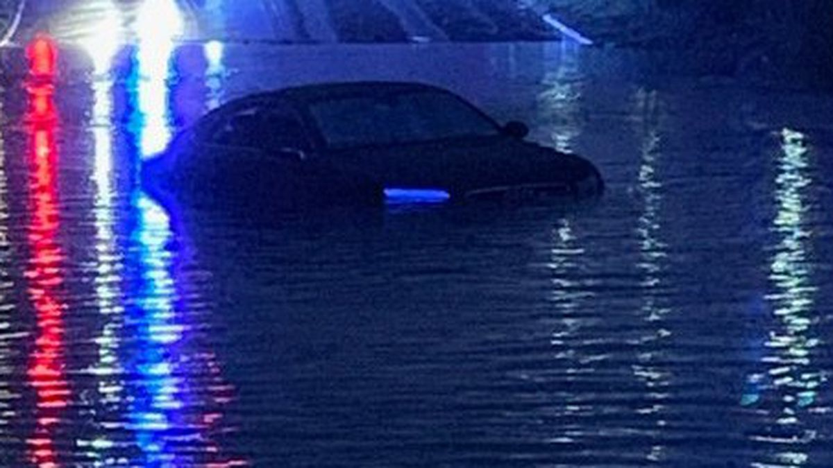 CMPD reminds drivers of safety as multiple roads flood in Charlotte