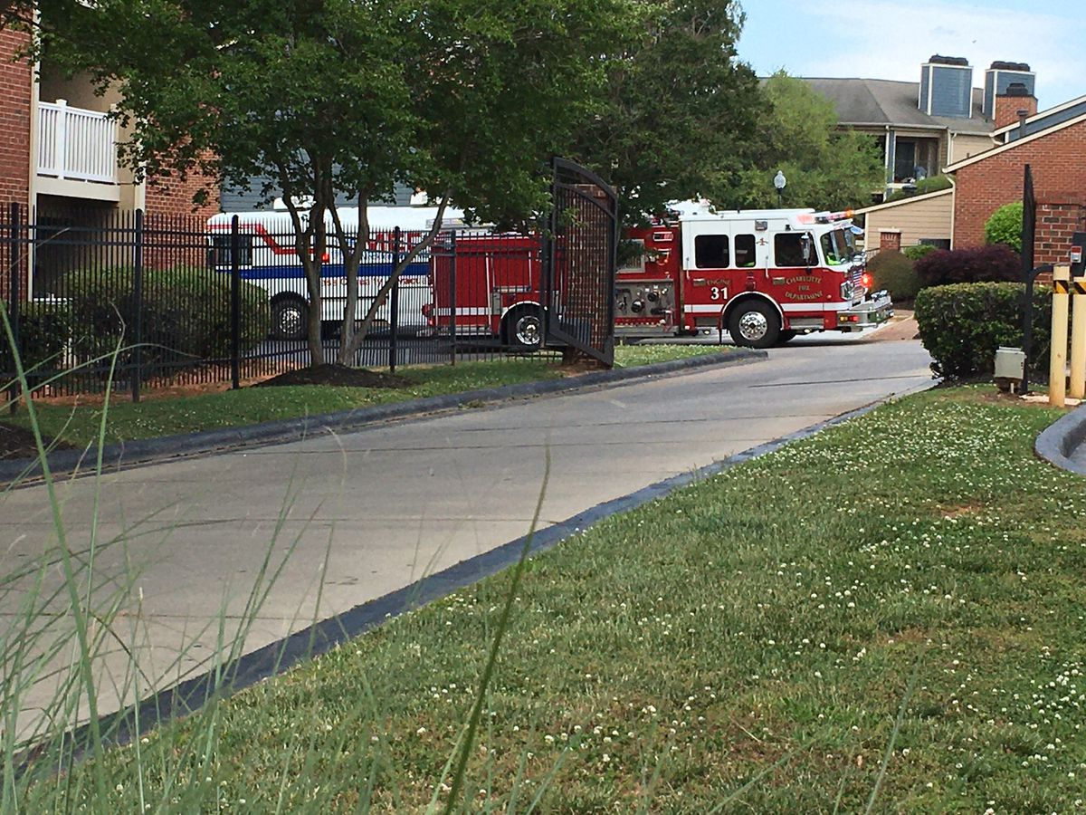 Person seriously hurt in south Charlotte fire