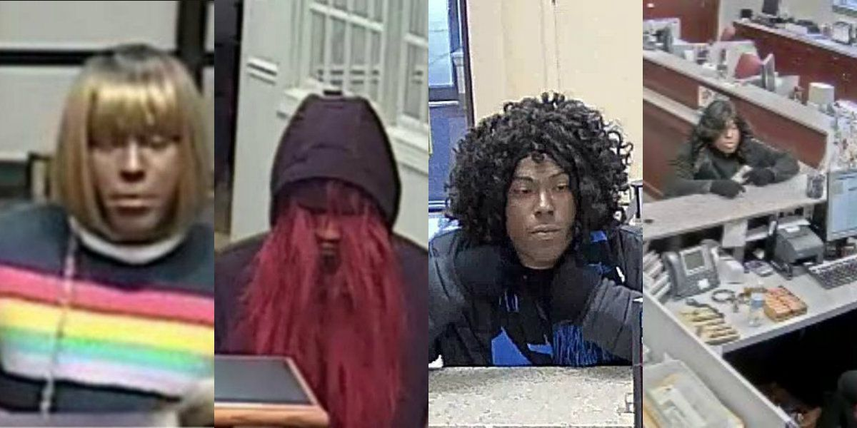 FBI says 'Bad Wig Bandit' has robbed yet another N.C. bank