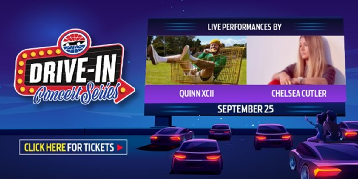 Charlotte Motor Speedway to host live drive-in concert series