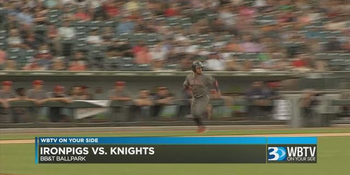 Knights drop series opener at home against Lehigh Valley Friday