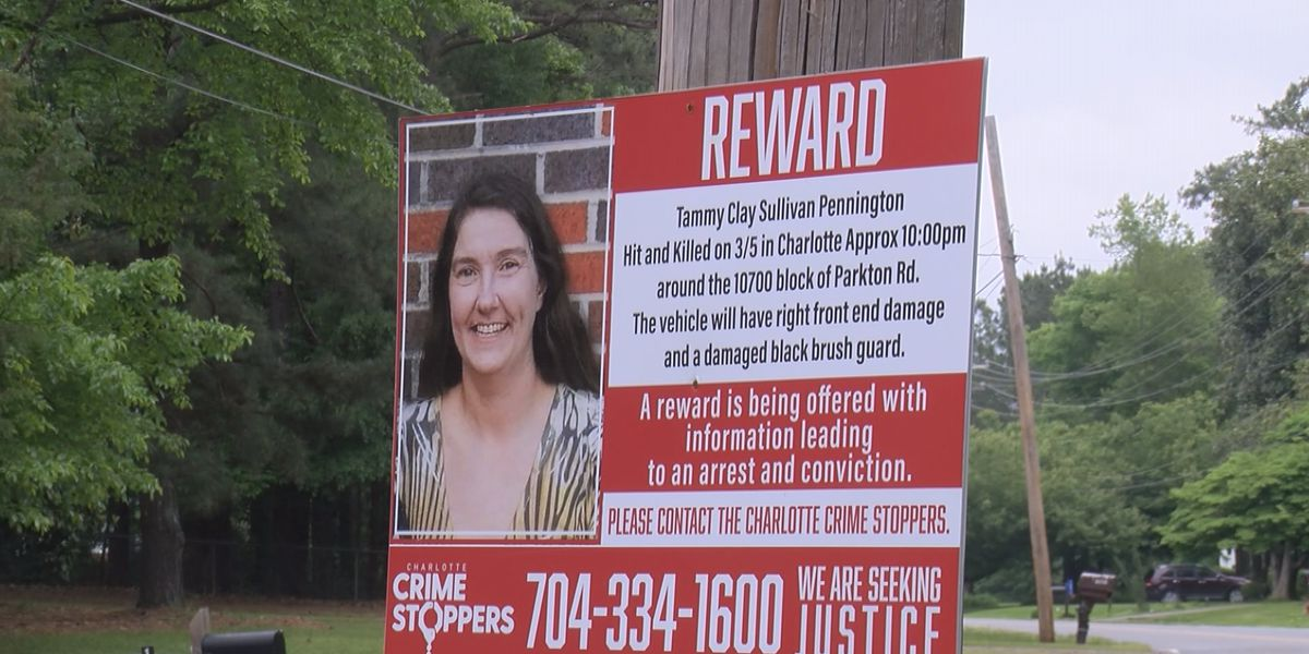 Crime Stoppers: Husband pleads for help after wife killed in hit-and-run in Charlotte