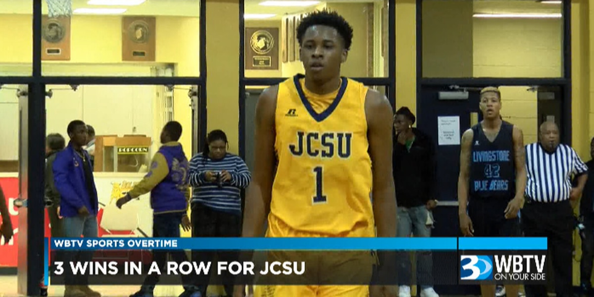 WBTV Sports Overtime: JCSU men's basketball tied for 1st in the CIAA Southern Division