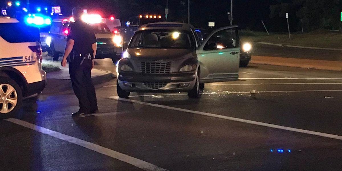 Car shot at on I-85 in west Charlotte