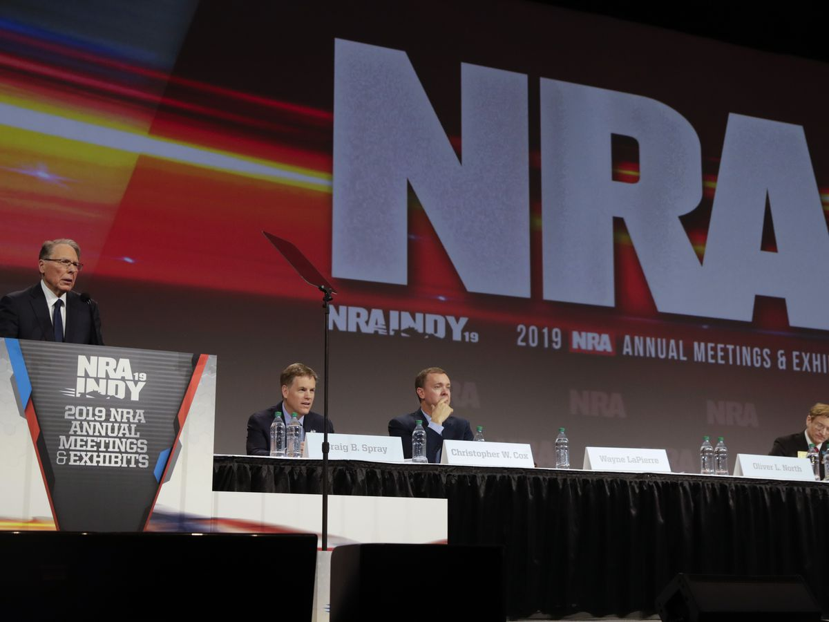 NRA declares bankruptcy, plans to incorporate in Texas