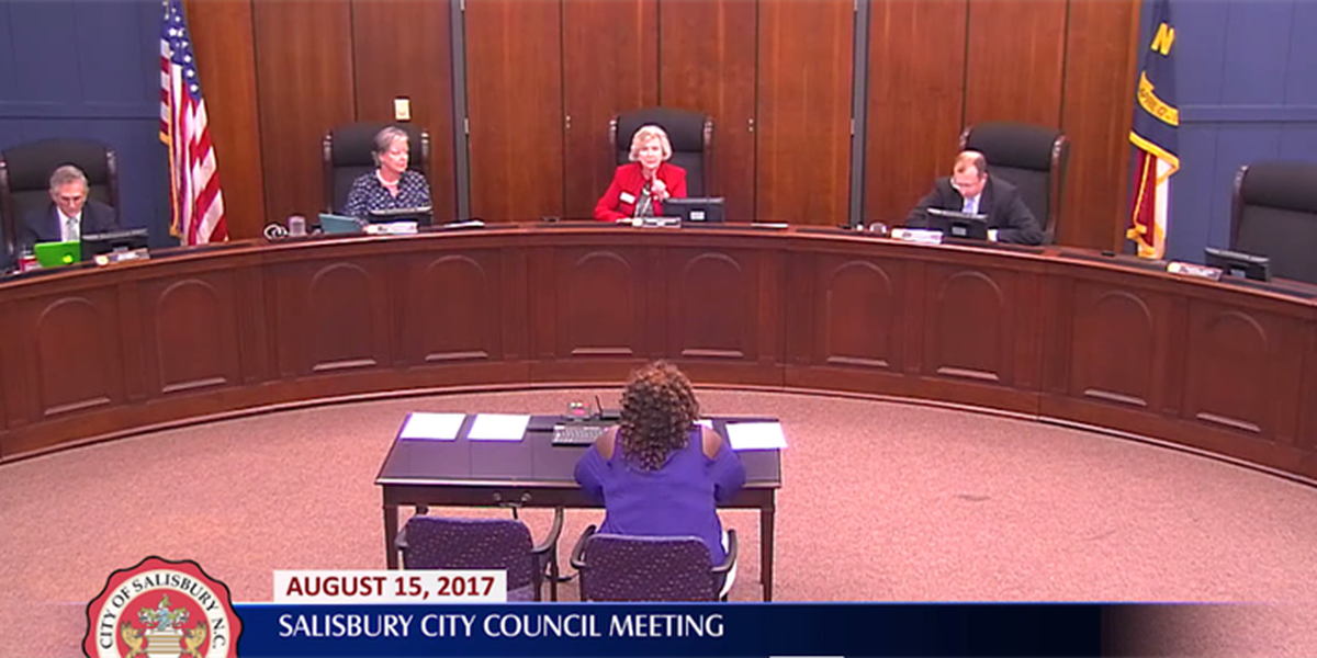 Salisbury Mayor apologizes for behavior in council meeting