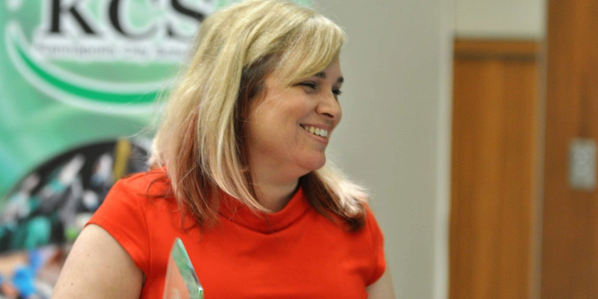 Evelyn Carrasquillo named KCS Teacher of the Year