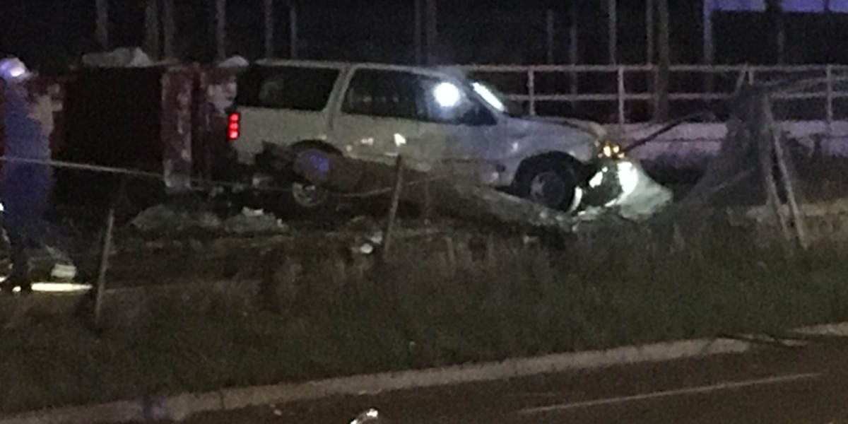 Driver crashes into several utility poles in east Charlotte, knocks down power lines