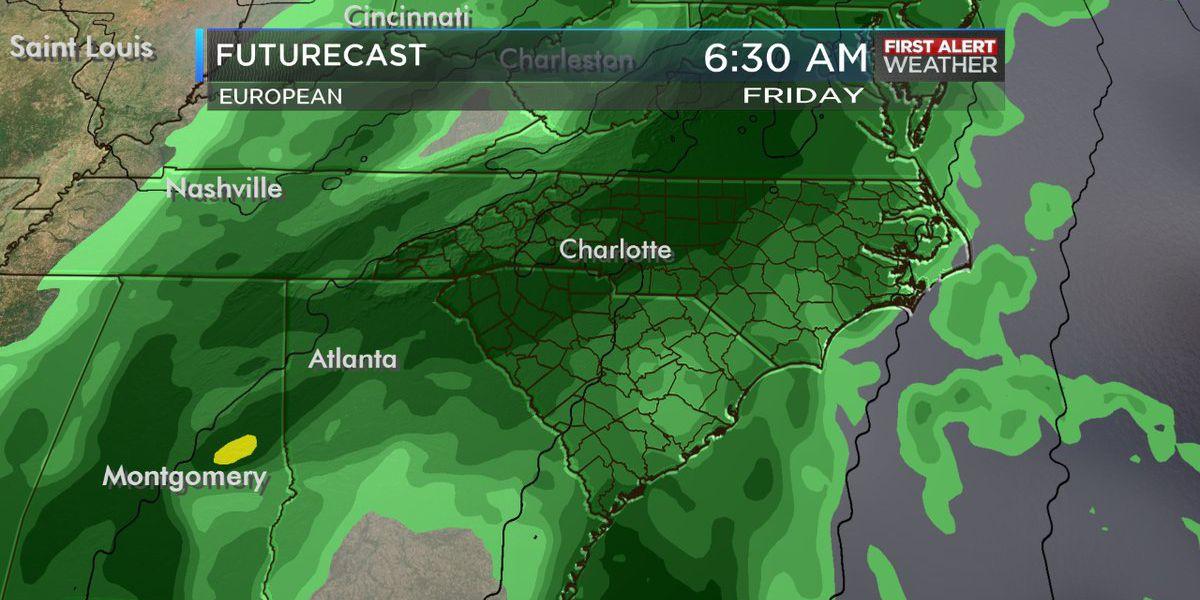 Major storm system headed to the area Thursday
