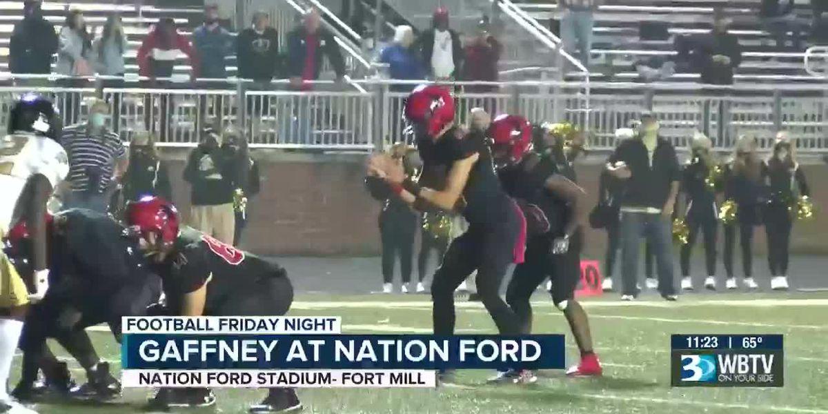 Gaffney at Nation Ford