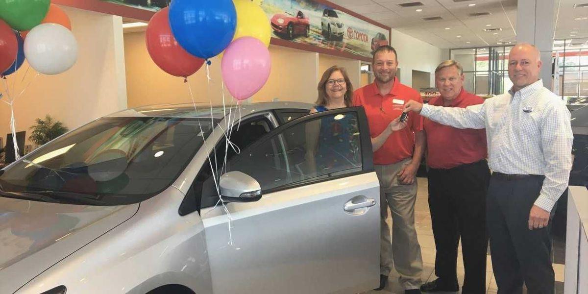 Concord resident wins new car at Nazareth Fun Fest