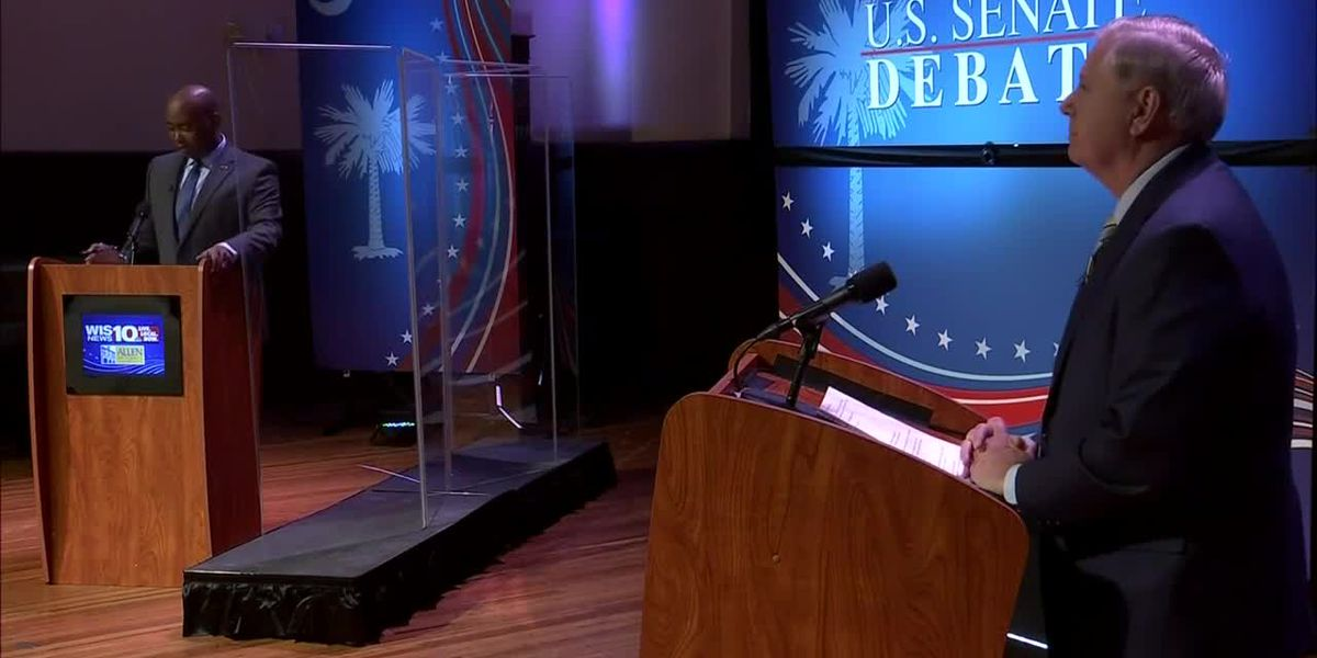 Challenger demands Graham get COVID-19 test before S.C. Senate debate