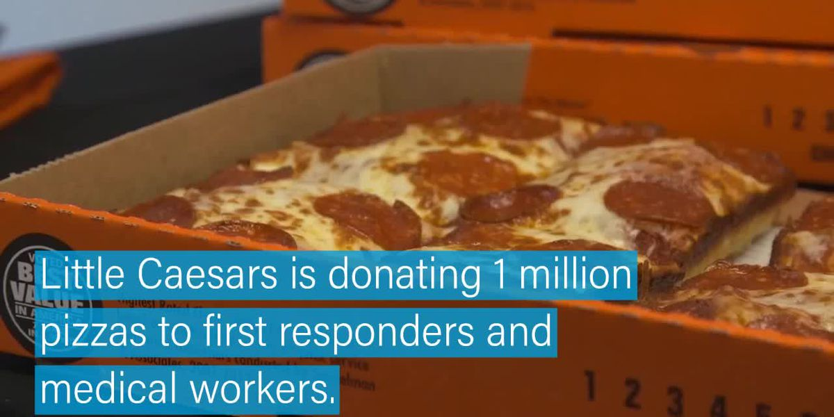 Little Caesars donating 1 million pizzas