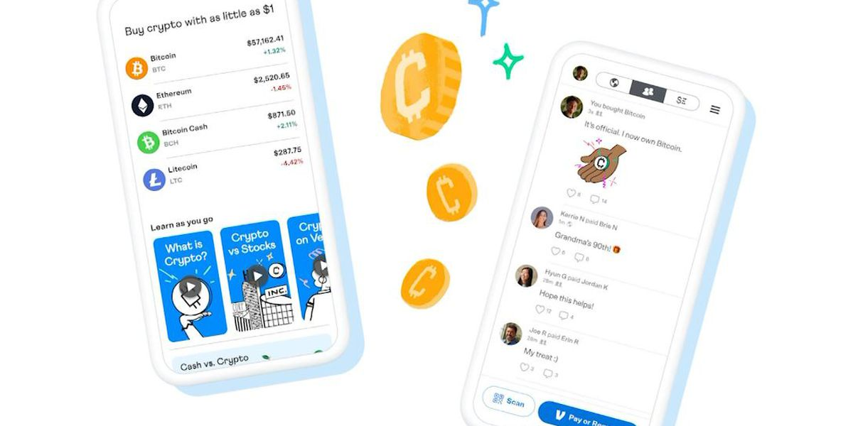 Venmo is into crypto, allowing users to buy Bitcoin, others