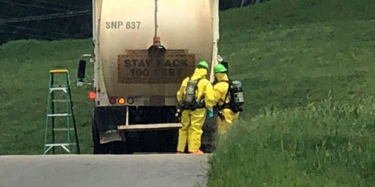 Hazmat called after Concord garbage truck sets off radiation sensors