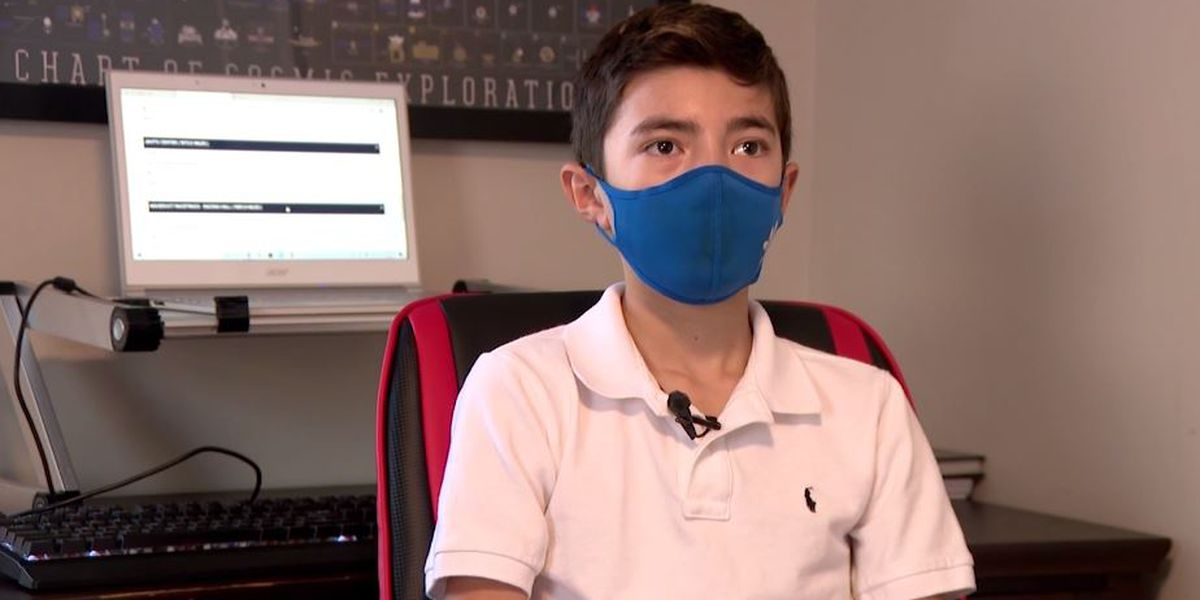Boy, 12, creates website to help elderly New Yorkers book vaccine appointments