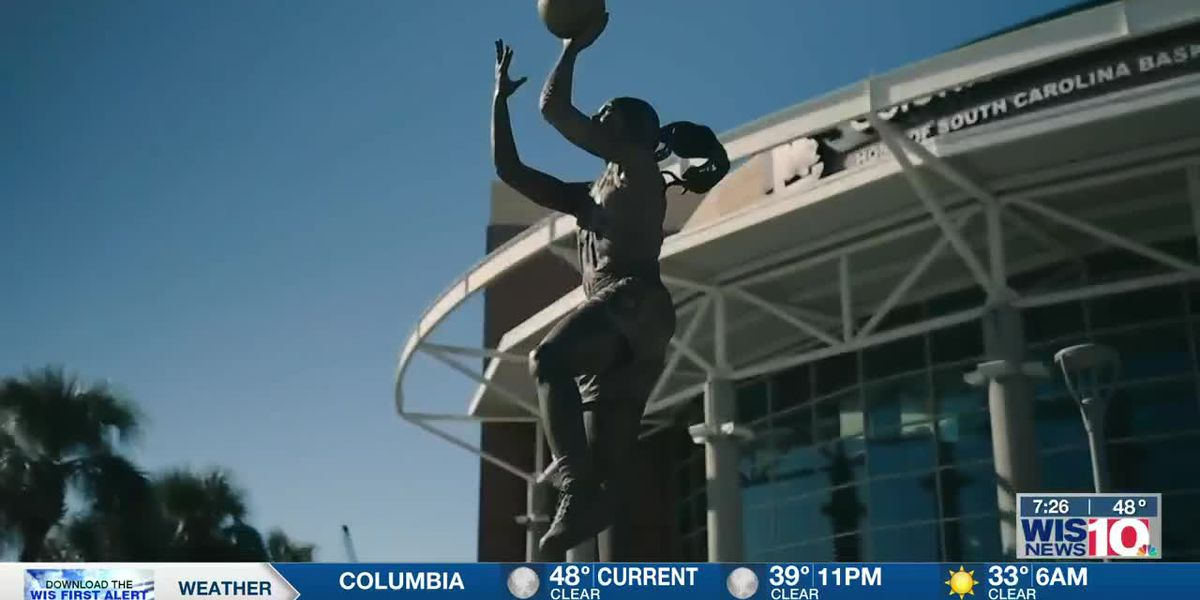 'I still can't believe it': Gamecock hoops legend Wilson in awe of statue