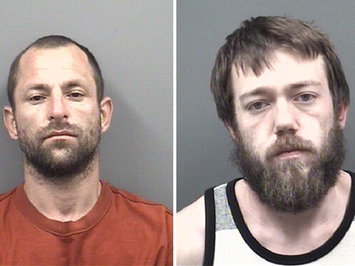 Two inmates enjoy about 20 minutes of freedom after running from Rowan jail