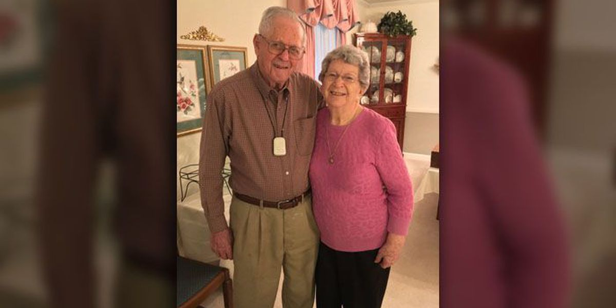 After 75 years of marriage, Matthews couple still sleeps holding hands