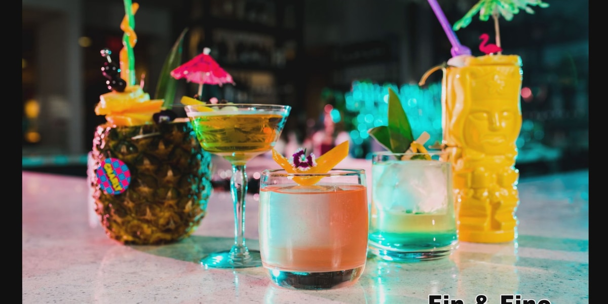 Fin & Fino 80s inspired cocktails