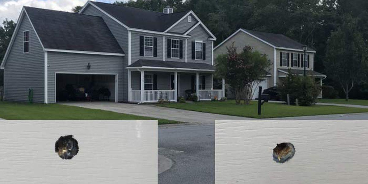 Gunmen fire about 20 shots into Summerville home, no one injured