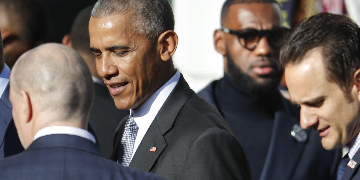 Barack Obama advised LeBron James, Chris Paul to finish NBA postseason, per report