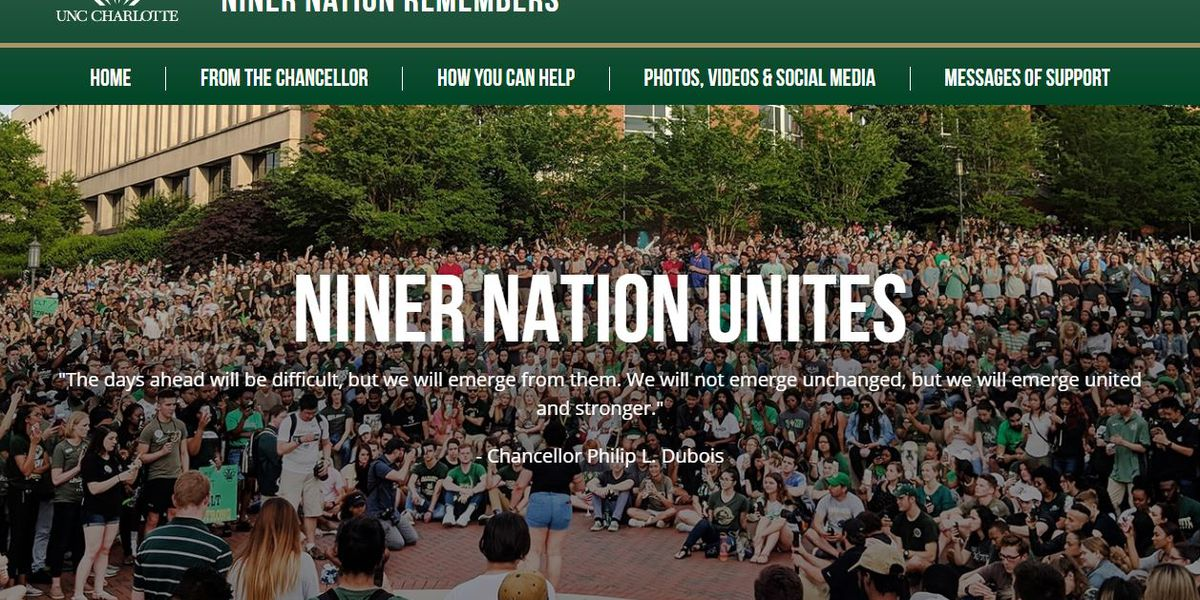 Commission formed, website established to honor victims of shooting at UNC Charlotte