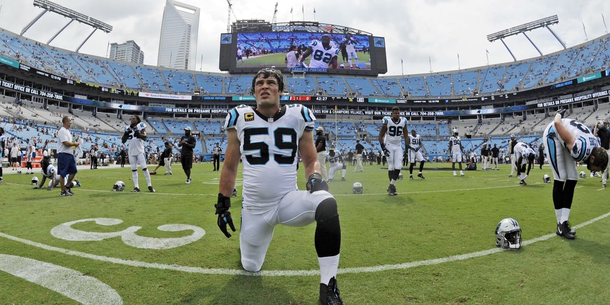 Carolina Panthers star Luke Kuechly announces his retirement