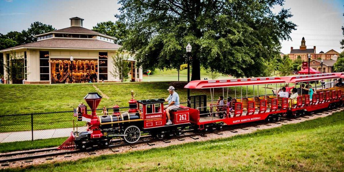 Kannapolis Rotary Express Train, Carousel, Putt-Putt & Splash Pad announce Spring/Summer schedule