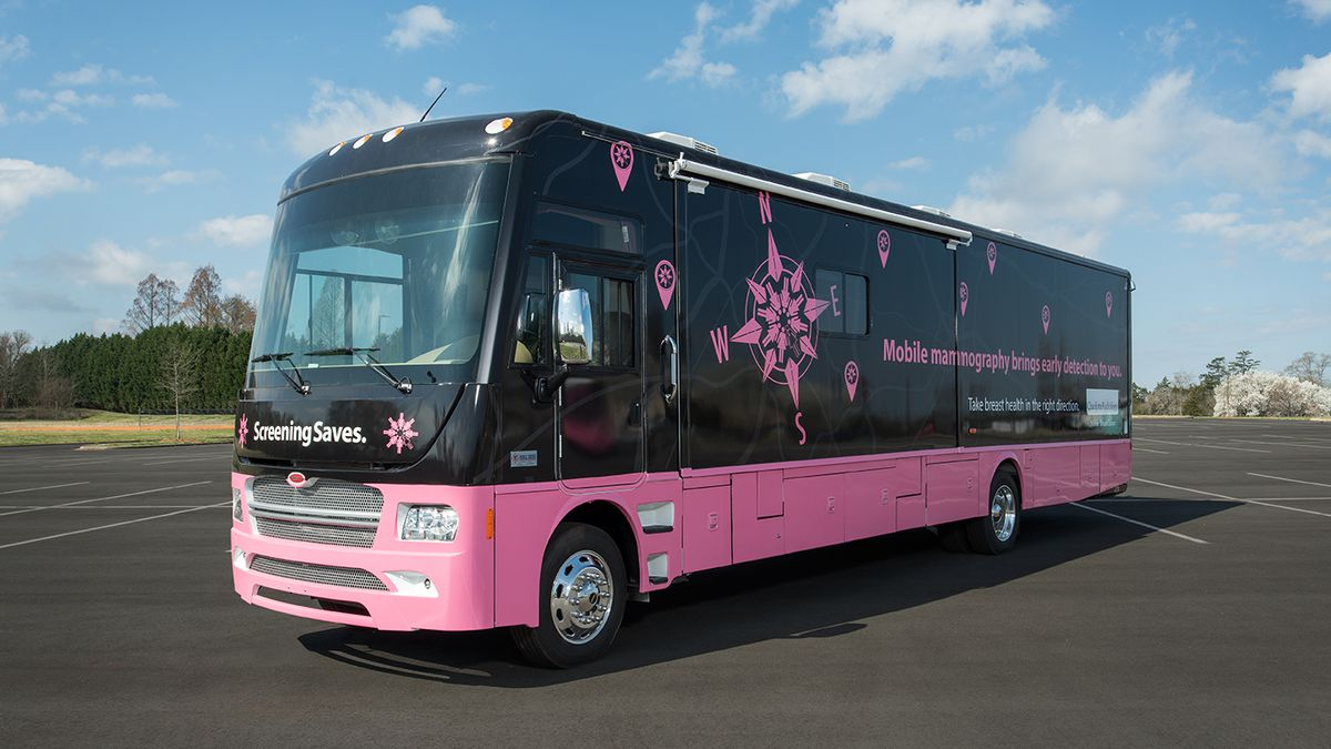 Project Pink: Dozens of uninsured women visit 'breast center on wheels' for free mammogram