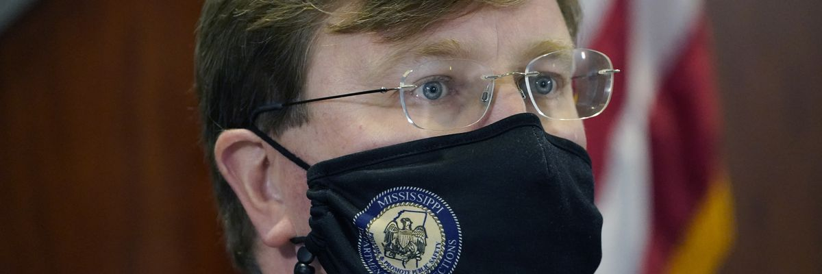Gov. Reeves axes mandate for masks in Mississippi; replaced with 'recommendations'