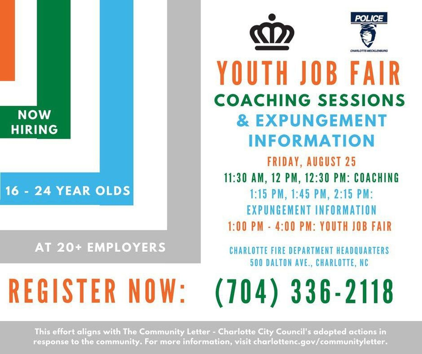 Finding Employment For Youthful Offenders In Charlotte