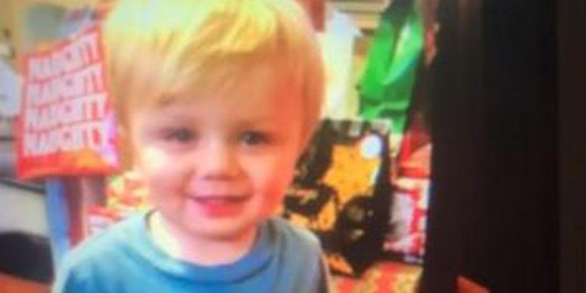 Kentucky man offers $5,000 reward following toddler son's disappearance