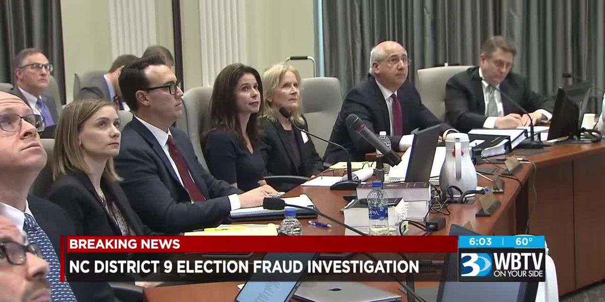Fireworks fill first day of NC9 investigation hearing, Dowless declines taking the stand