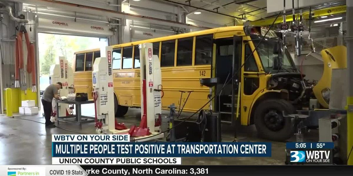Union Co. Schools leaves new transportation center open after workers contract COVID-19, raising concerns