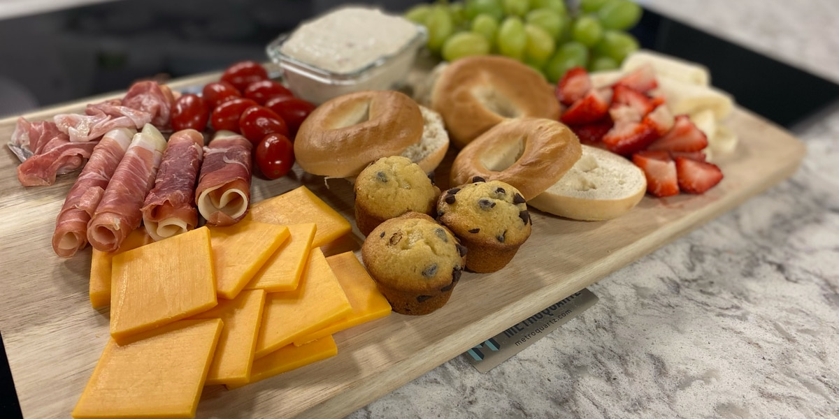 Create your own delicious brunch board at home