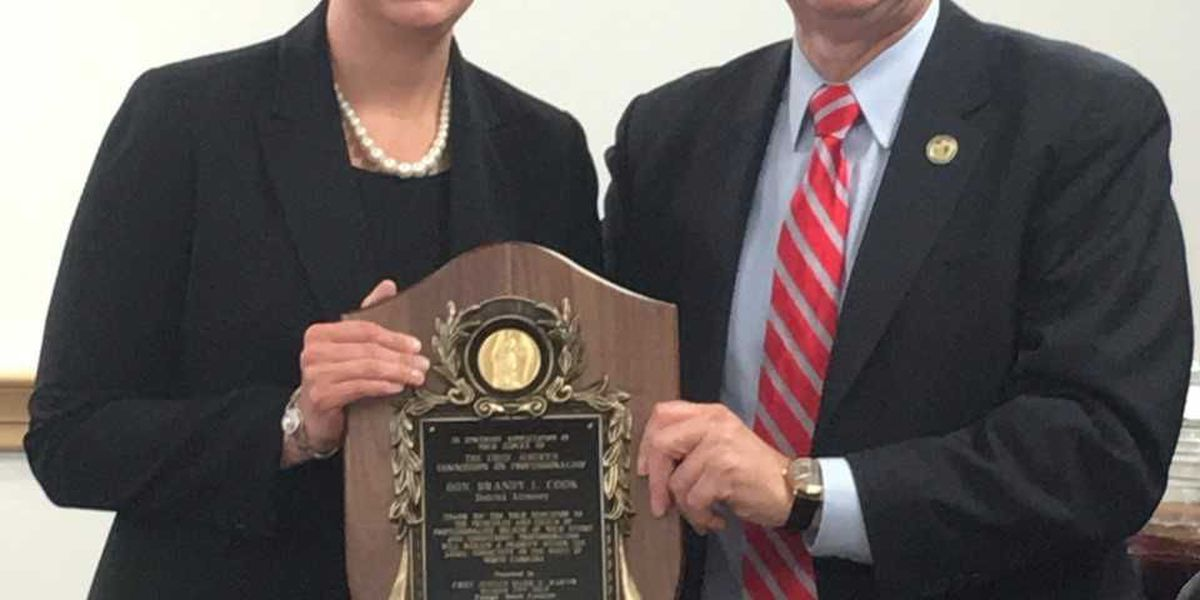 Rowan District Attorney Cook honored for professionalism