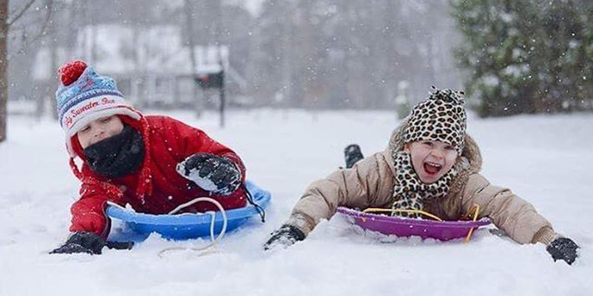 SLIDESHOW: Kids in the snow